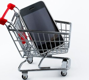 cell-phone-in-shopping-cart-300x270