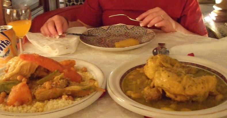 Couscous at Le Dinarjat