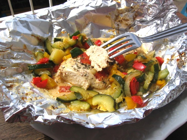 This chicken recipe gives a new twist to the original Italian recipe by adding greens. The result is a tasty, power packed summer meal.
